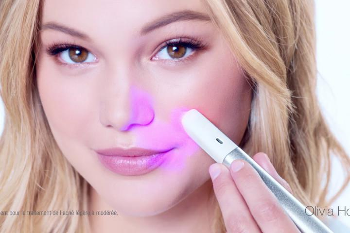 Neutrogena releases a light therapy pen against acne