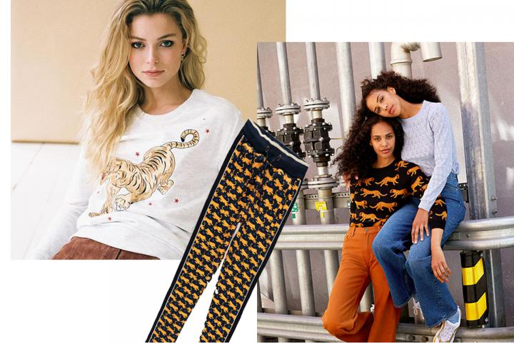 Trend: felines print on our clothes