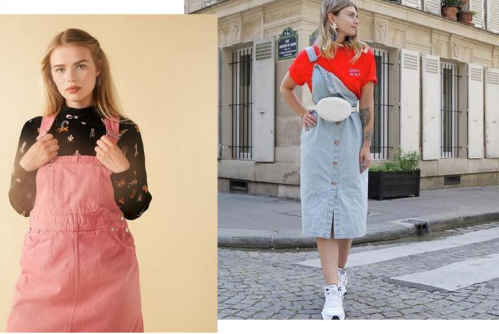 The apron dress, the inescapable fashion of this season