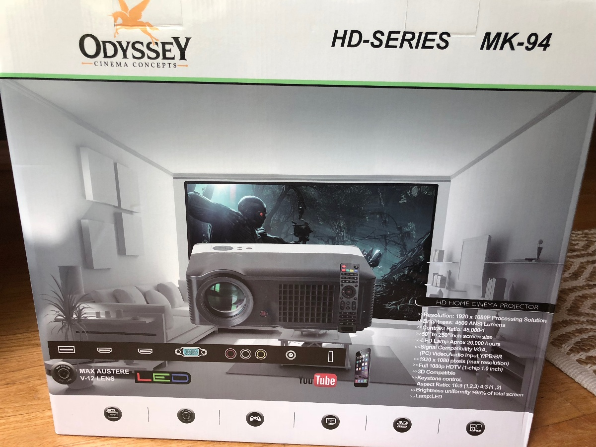 Best Quality Screen Projector-Odyssey Cinema Concepts
