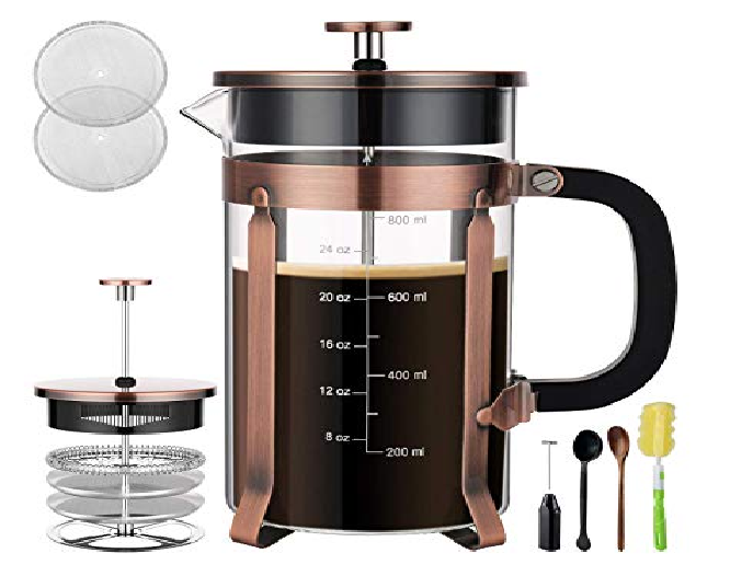 Be Your own Barista with a French Coffee Press