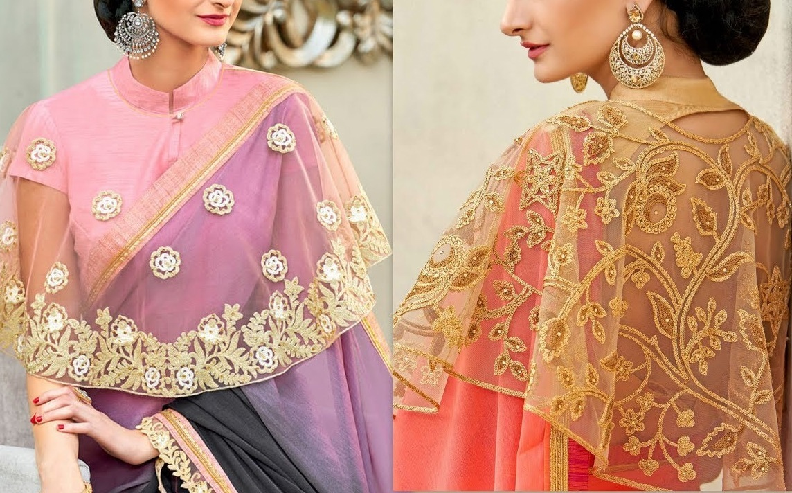 These latest blouse designs going to rock in 2019
